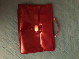 Cartier leather briefcases