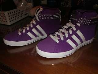 Adidas bb neo daily twist mid w [purple]