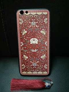 🚚 🌸 bnip oppo r9s red floral cover/case