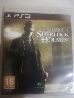 Sherlock Holmes PS3