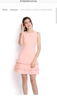 🚚 Bnwt Lily Pirates dress in Peach