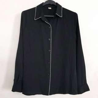 BN Black Long Sleeve Top