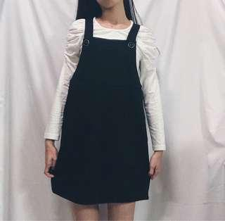 🚚 黑吊帶裙