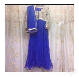 ANARKALI SUIT (One set with bangles) FOR RENT