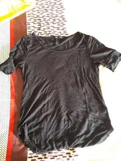 Black T shirt - Kaos Hitam