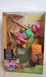 Barbie - camping fun