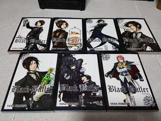 Kuroshitsuji (Black Butler) - Book 1-7 English