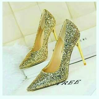 Luxury Glittering High Heels Women Shoes