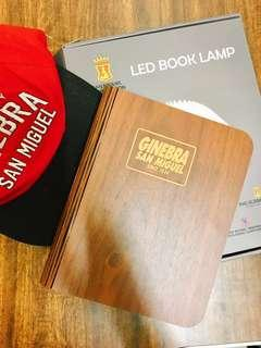 Ginebra Book Lamp + FREE limited Edition cap