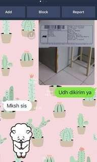 Testi :) Thank you for shopping dear!