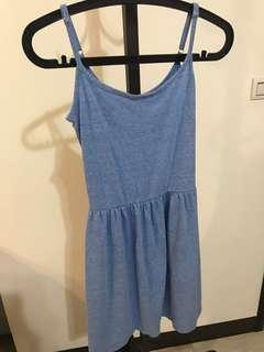 🚚 Gap牛仔藍棉質洋裝連身裙