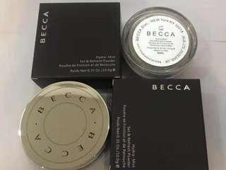 Becca loose setting powder