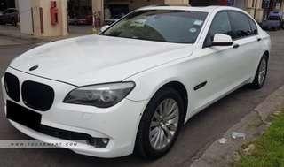 BMW 7 Series Daily Rental