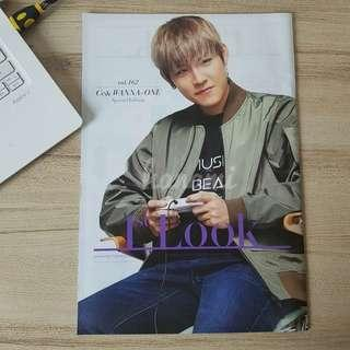Park Woojin Cover Wanna One 1st Look CE& Magazine