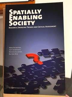 BOOK: SPATIALLY ENABLING SOCIETY, RESEARCH, EMERGING TRENDS AND CRITICAL ASSESSMENT
