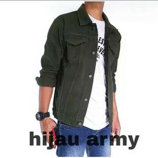 Jacket Denim Army