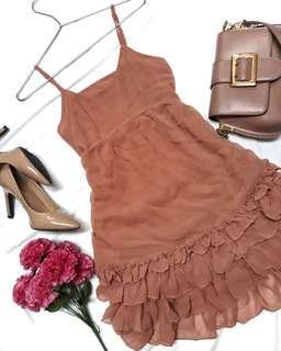 Ruffled Beach Dress