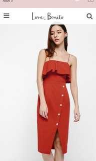 🚚 Love Bonito Emilia Off Shoulder Dress
