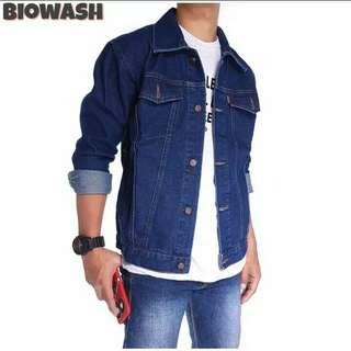 Jacket Denim Biowash