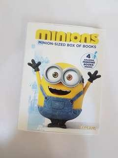 🚚 Minions Book Set of 4