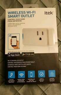 Itek Wireless Smart Outlet (BNIB)