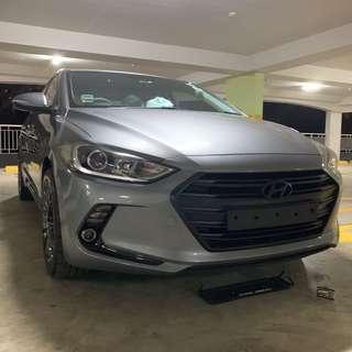 Hyundai Elantra Plastidip Dechrome Front Grille Plasti dip
