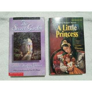 2 Books Frances Hodgson Burnett