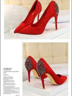 🚚 New Woman's Red High heels shoes for sale !