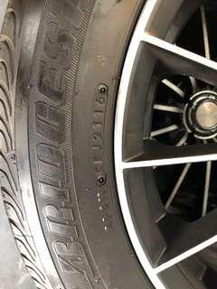 16吋輪圈輪胎