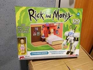 全新Rick and Morty lego you shall now call me snowball