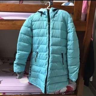 BNIP Turqoise Winter Padding Outerwear