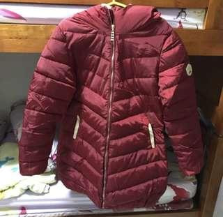 BN Red Winter Jacket/Outerwear