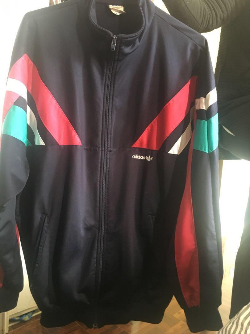 70's Adidas zip up sweater