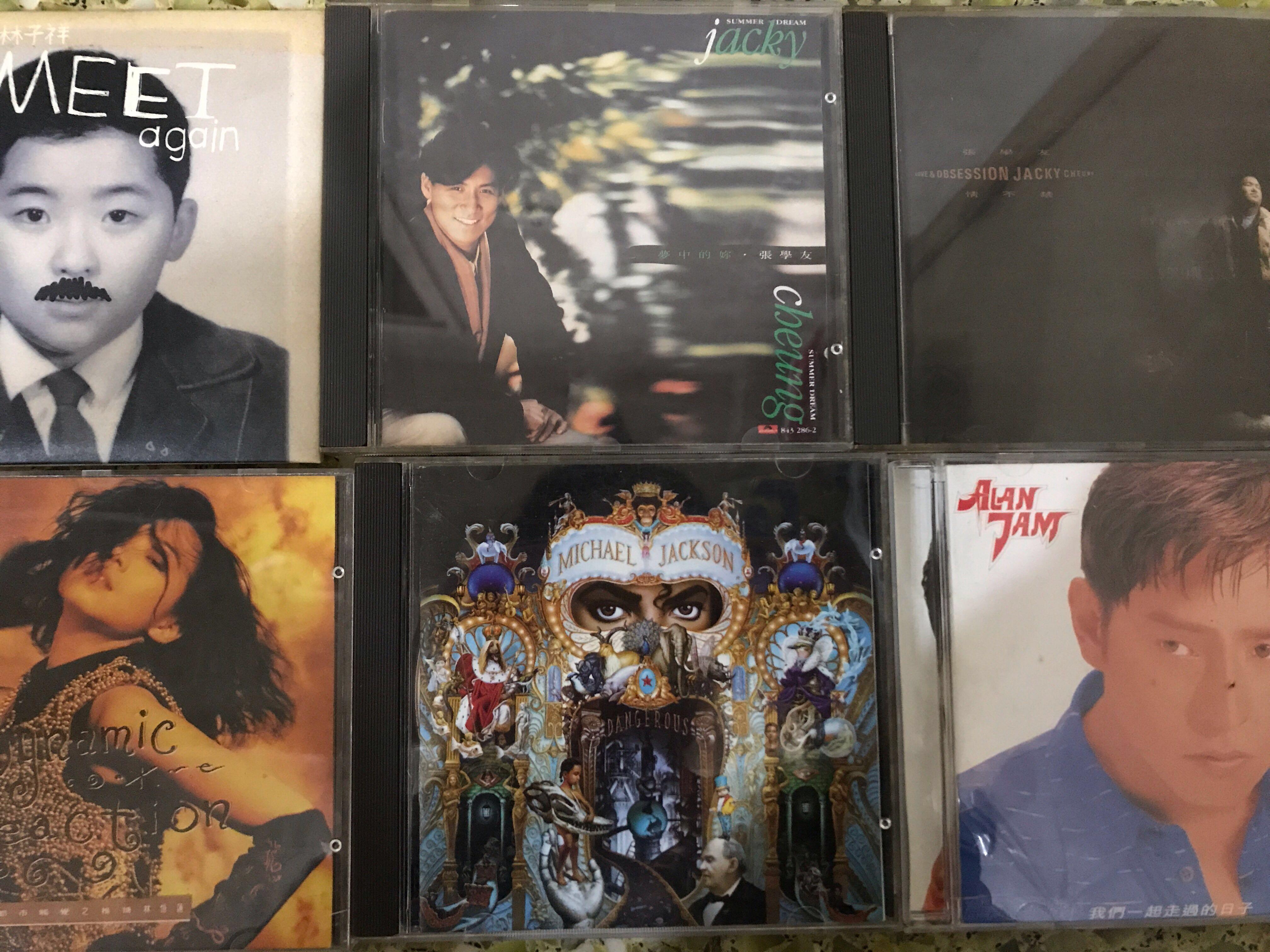 張學友 林憶蓮 林子祥 Michael Jackson CD 正版