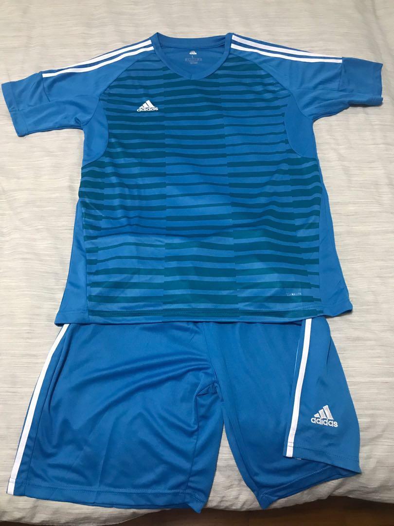 Adidas adipro 18 goalkeeper short sleeve cfb601158