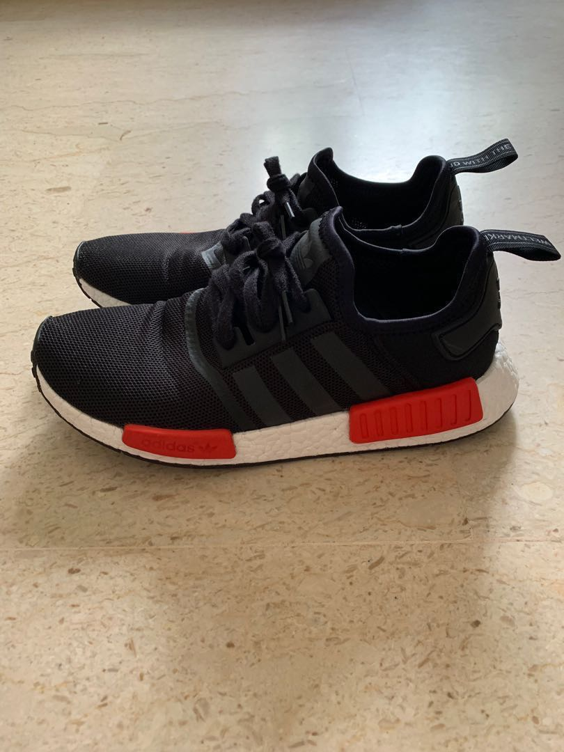 b978ad19873a0 Adidas NMD R1 BRED (PRICE REDUCED)