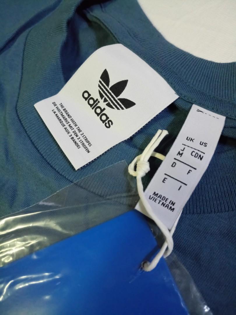 Adidas Originals T-shirt (blue) 未剪牌