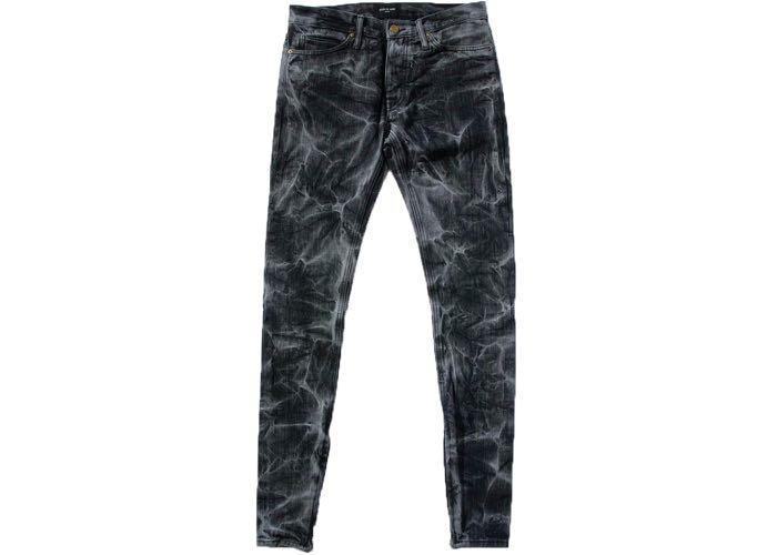 Authentic Fear of God Holy Water Selvedge Denim Black