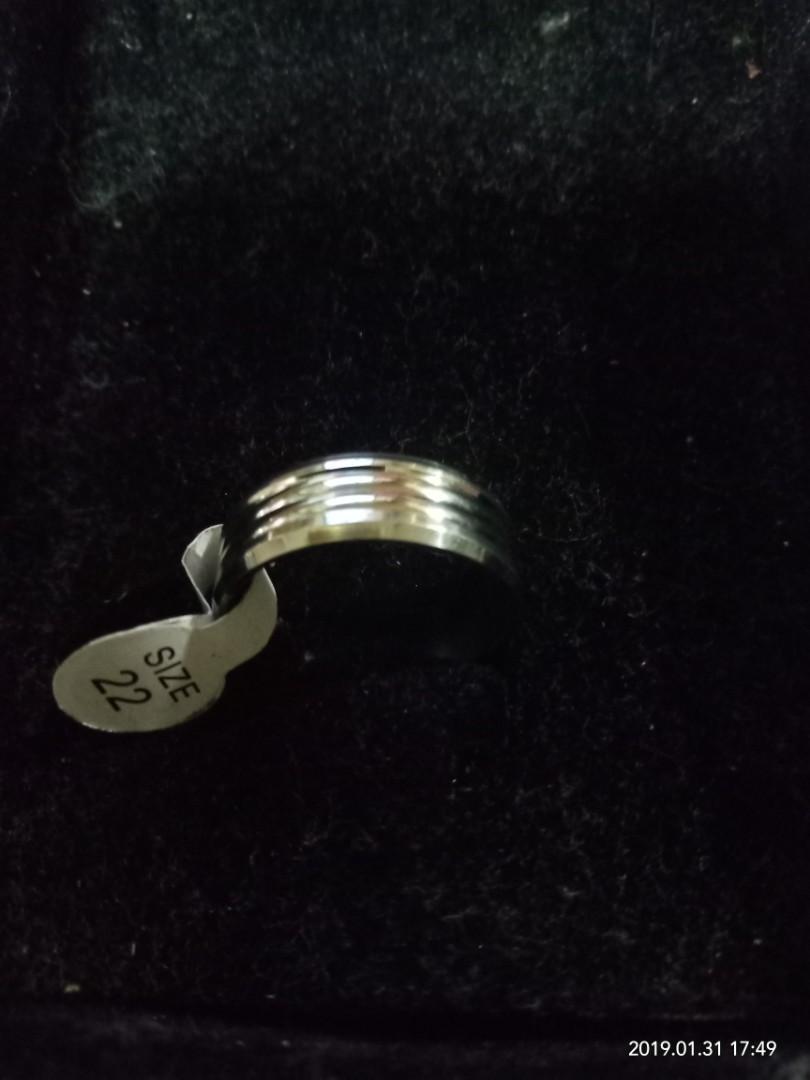 cincin ukuran besar stenlis anti karat