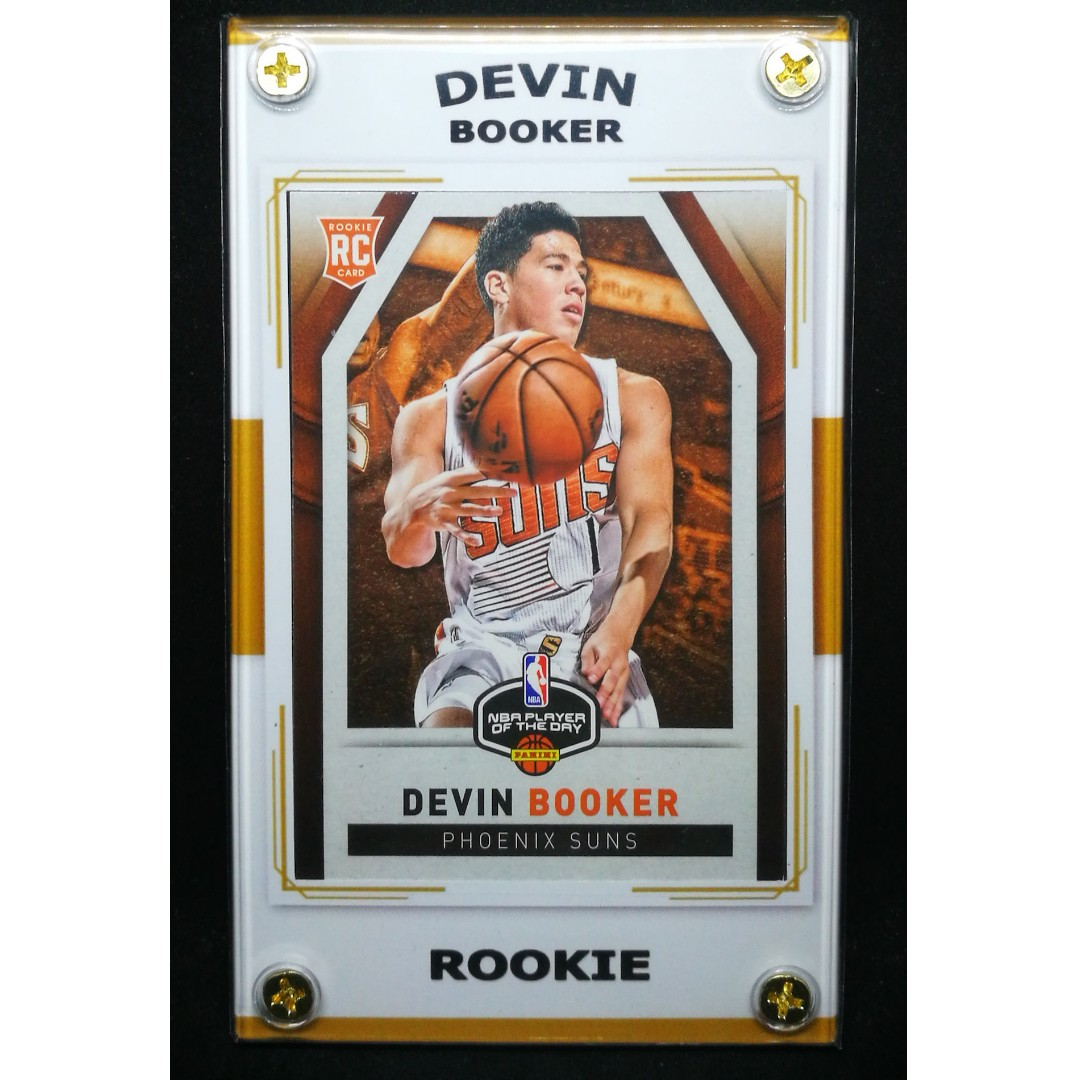 c466fb339 Devin Booker 2015 Rookie Basketball Card