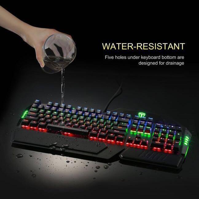 Easterntimes Tech I-800 Mechanical Gaming Keyboard 105-Key