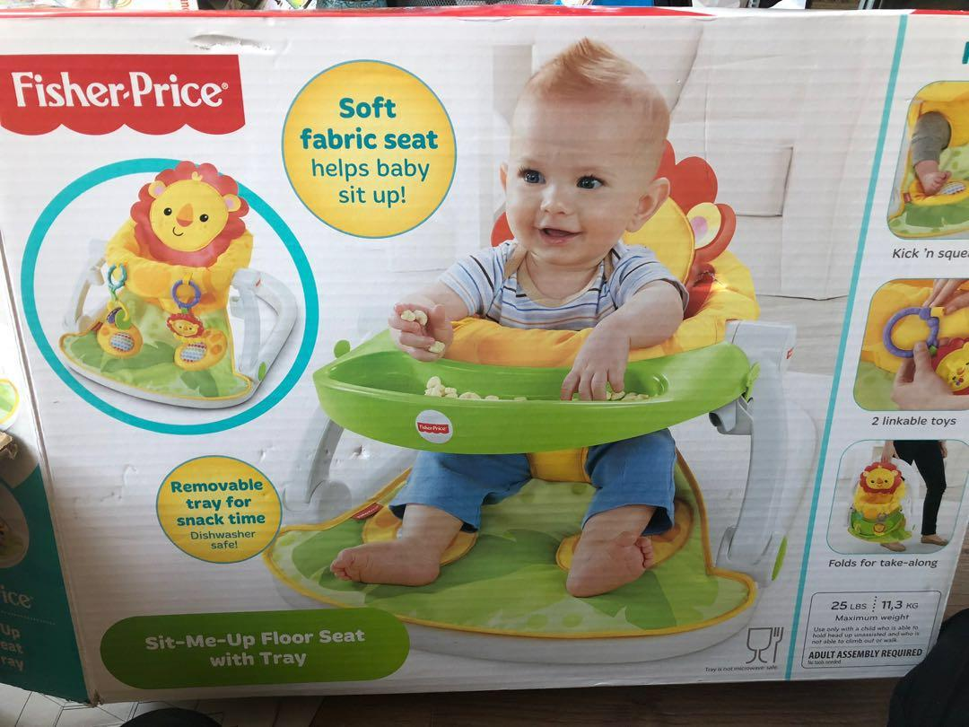 Fisher Price Sit Me Up Chair with Tray