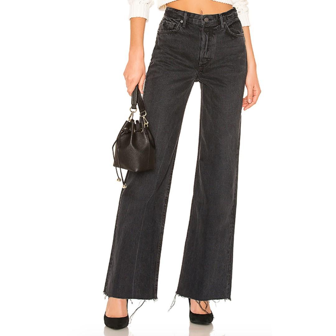 High-Rise Jean Black - Size 27