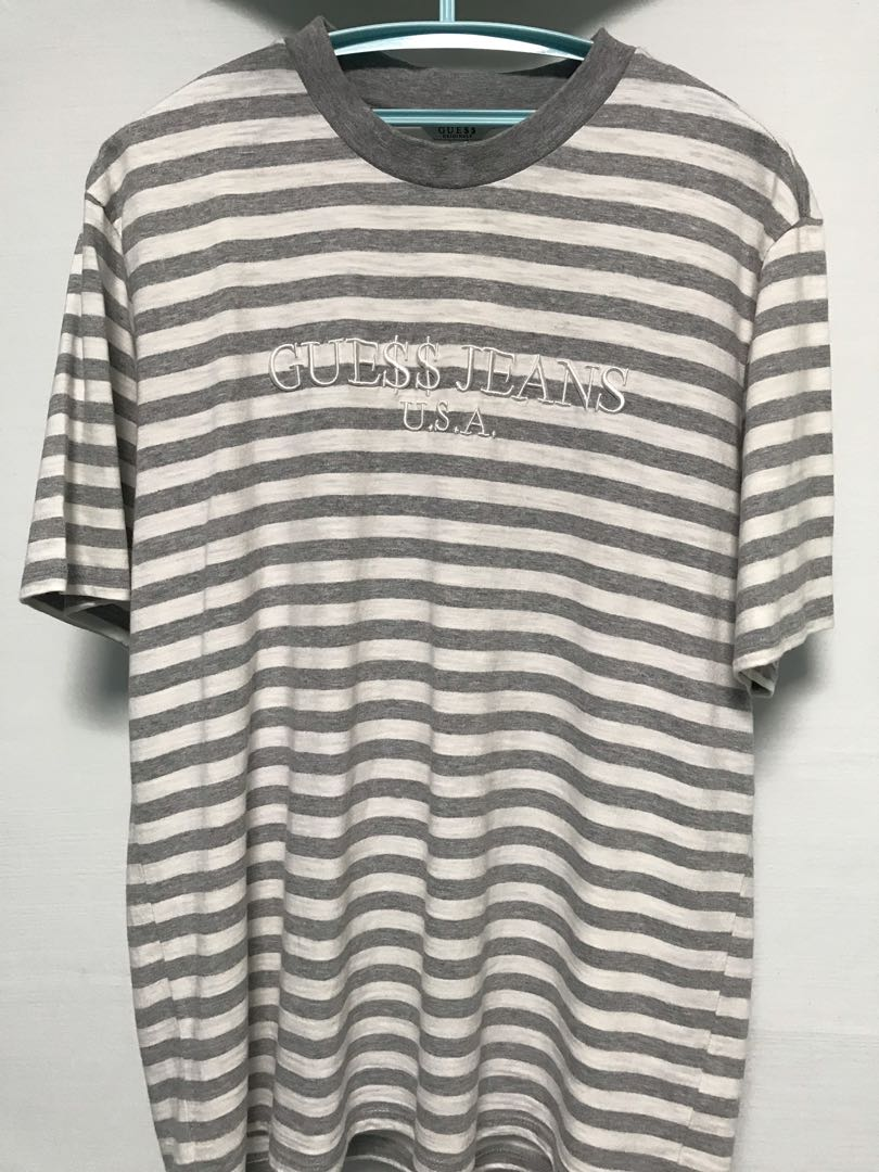2843755d37f7 Guess GUE$$ ASAP ROCKY Tee, Men's Fashion, Clothes, Tops on Carousell