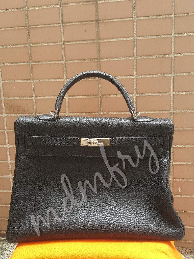 10d77fff7f2 Hermes Kelly 35cm Black Fjord. Bababebi Authenticate. Further ...