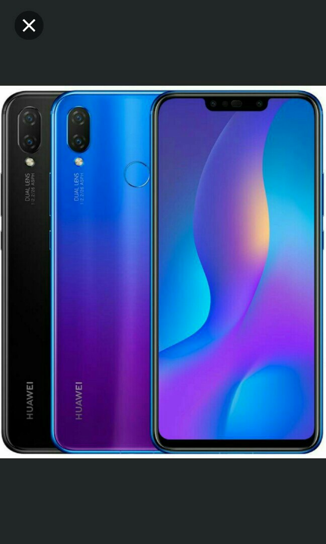 Huawei Nova 3i Handphone On Sale Mobile Phones Tablets Android