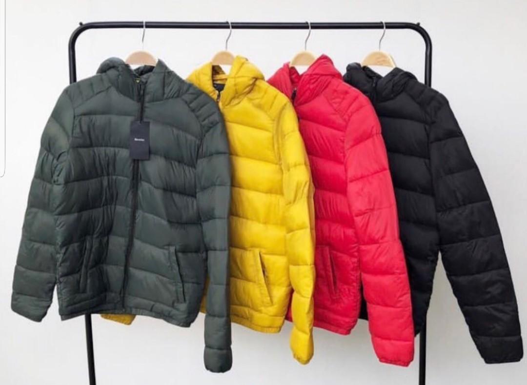 eebd0e70 Jaket puffer winter by berskha not zara topman pull n bear, Men's Fashion,  Men's Clothes, Outerwear on Carousell