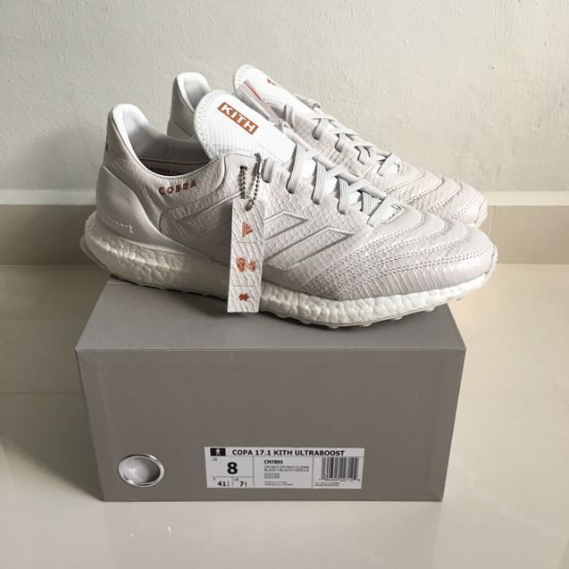 detailed pictures 1bfd3 16fce Kith x Adidas Ultraboost Copa Mundial 17, Mens Fashion, Footwear on  Carousell