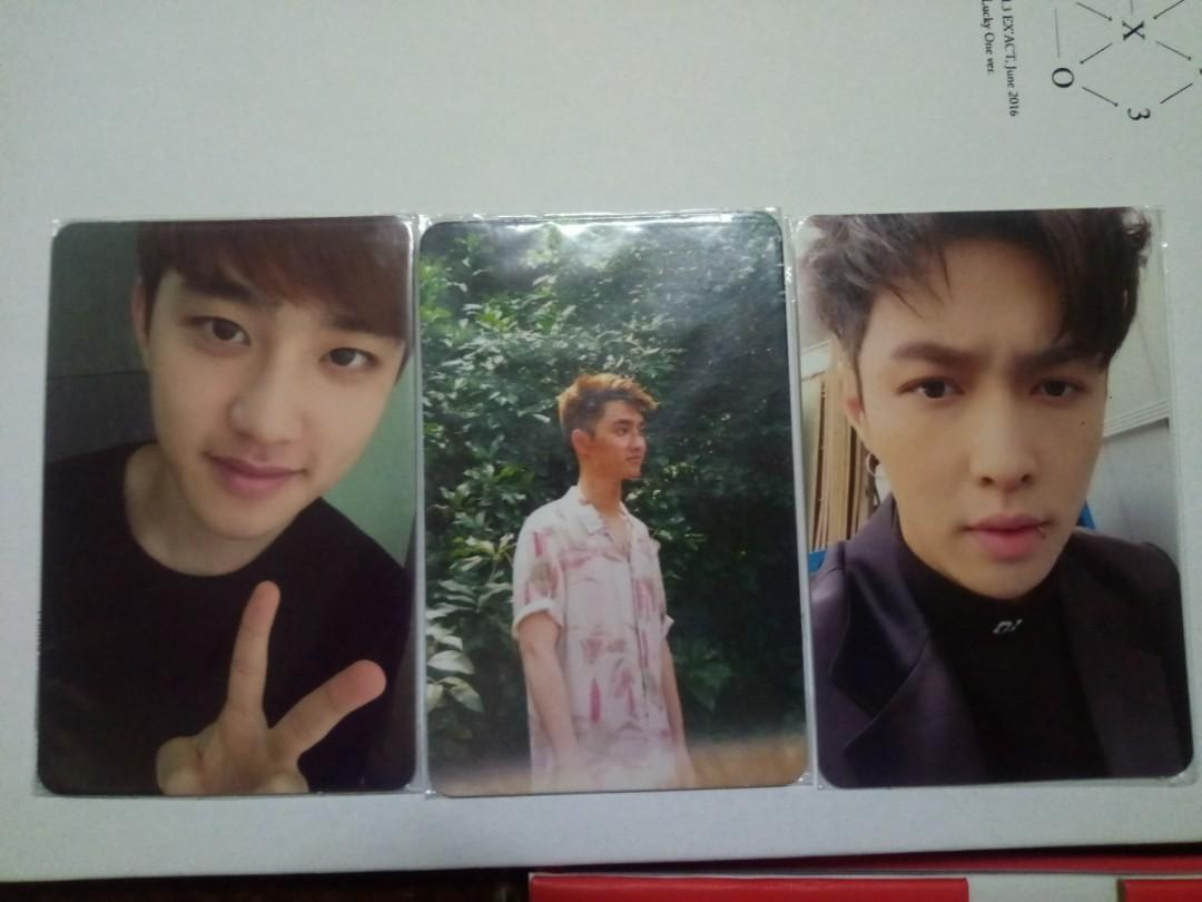 Kyungsoo Do Lay Exo Album Pc Photocard K Wave On Carousell