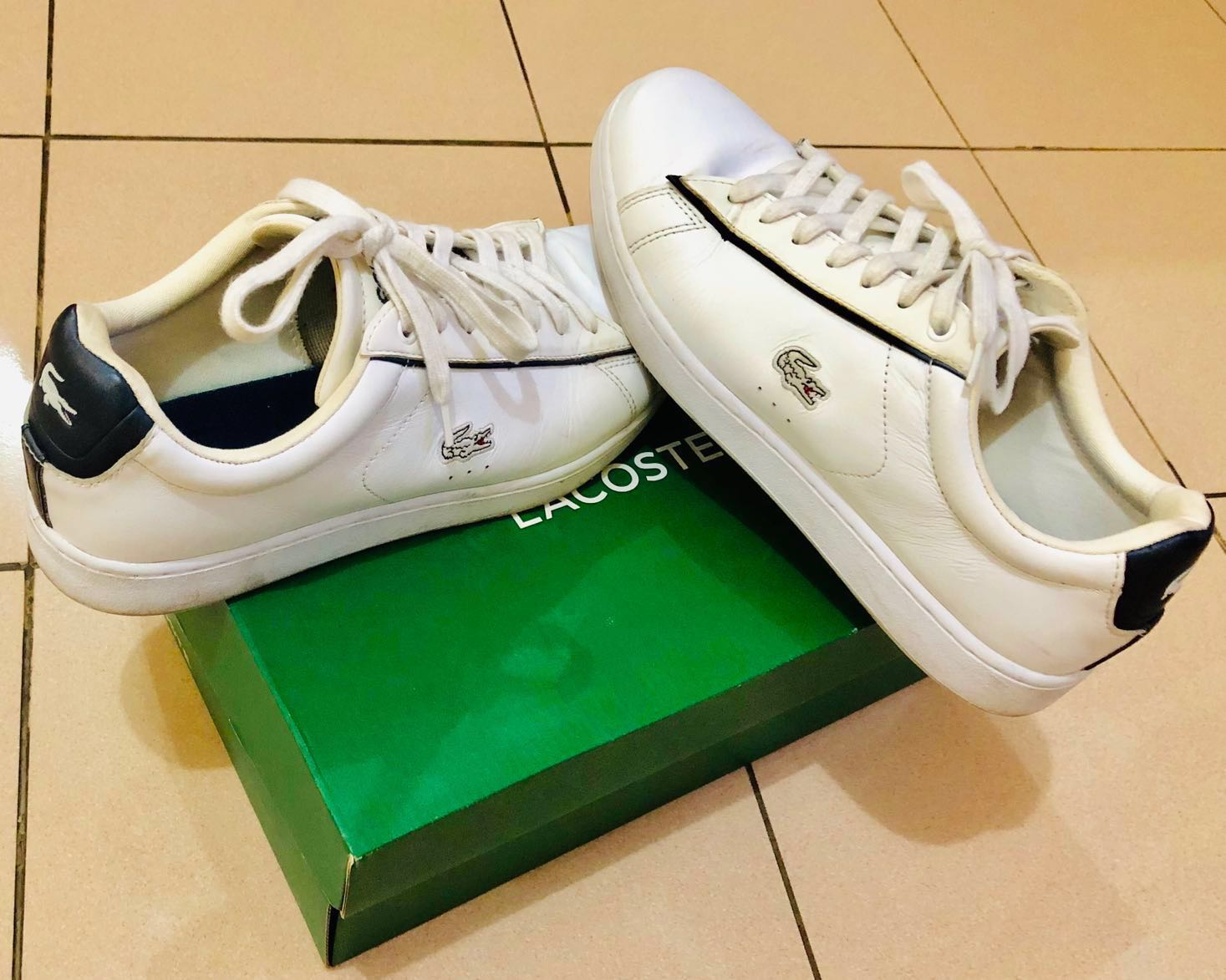 84f9f662b26 Lacoste Shoes Original, Men's Fashion, Men's Footwear, Sneakers on Carousell